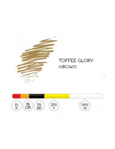 TOFFEE GLORY - MBO 1470 PIGMENT 8ML