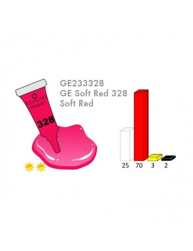 RED 328 3ML PIGMENT - LRD3328-1