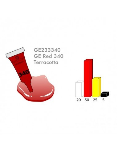 RED 340 3ML PIGMENT - LRD3340-1