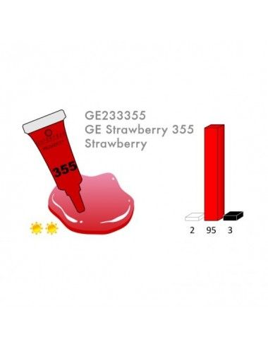 RED 355 3ML PIGMENT - LRD3355-1