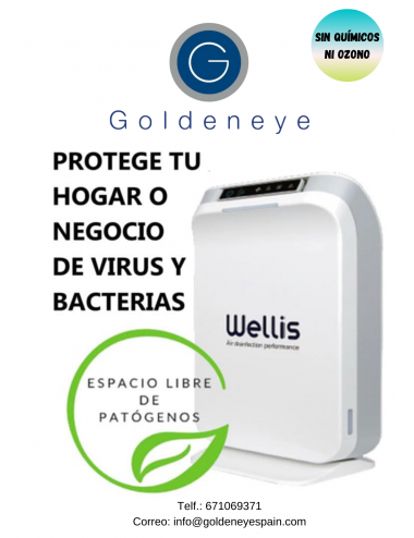 Desinfección de Aire Wellis