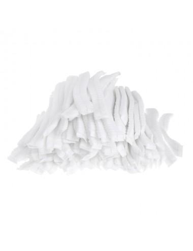 Gorro Circular plegado Blanco 100 unidades
