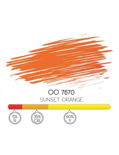 SUNSET ORANGE - ORO 7670 PIGMENT 8ML