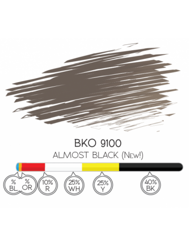 ALMOST BALCK - BKO 9100 PIGMENT 8ML